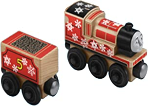Thomas & Friends Wood Snowy Rails Set - Replacement James and Coal Car FRR70