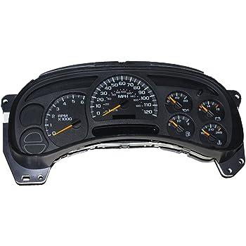REPAIR SERVICE 2003 Sierra Yukon Dash Instrument Gauge Cluster LED 04 05