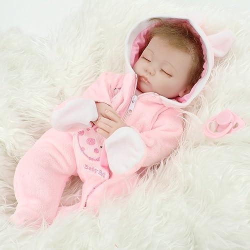 100% a estrenar con calidad original. 45 45 45 cm renacimiento muñeca bebé Niño muñeca realista de silicona vinilo dormir Niño juguete magnético  grandes precios de descuento
