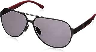 BOSS by Hugo Boss Men's B0669S Polarized Aviator Sunglasses
