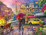 Kit de bordado de calle con pintura de diamantes 5D DIY, bordado de diamantes redondos, paisaje, punto de cruz, decoración del hogar de la ciudad, A4 40x50cm