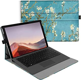Fintie Case for New Microsoft Surface Pro 7 / Pro 6 / Pro 5 / Pro 4 / Pro 3 12.3 Inch Tablet - Multiple Angle Viewing Port...