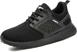 CHNHIRA Chaussures de Sécurité Unisexes Embout Acier Protection Léger Basket Securite Chaussures de Travail