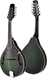 Mandolin A Style 8-String Basswood Body Engineer Wood Fingerboard Adjustable String Instrument for Benginners with Storage...