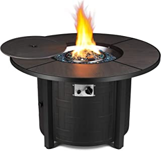 Amazon Com Outdoor Fire Tables Propane Fire Tables Fire Pits Outdoor Fireplaces Patio Lawn Garden