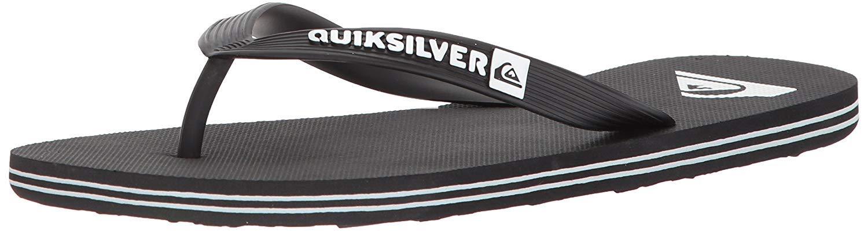 Quiksilver Molokai Sandal Black White