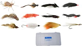 Alaska Mouse & Streamer Fly Collection - 12 Flies + Fly Box