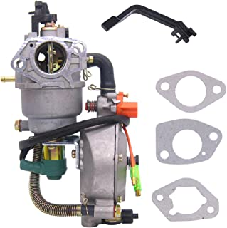 FitBest Dual Fuel Carburetor Carb LPG Conversion kit for Honda GX390 188F 4.5-5.5KW 13-14HP Generator Manual Choke