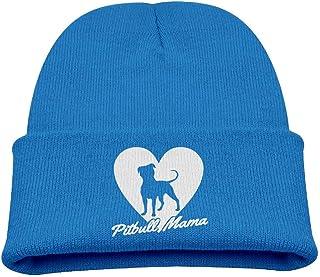 ADGoods Kids Children Pitbull Mama Dog Lover Gift Beanie Hat Knitted Beanie Knit Beanie For Boys Girls Gorra de béisbol pa...