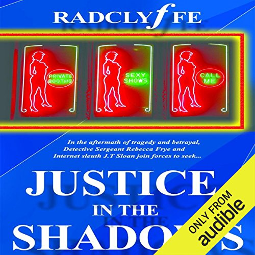Justice in the Shadows audiobook cover art