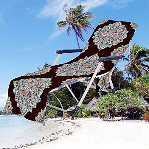 Toalla De Playa De Microfibra, Cubierta De Toalla De Secado Rápido Súper Absorbente, Cubierta De Sillón De Piscina, Cubierta De Silla De Sol, Cubierta De Silla De Hotel, Etc. 75 * 210cm