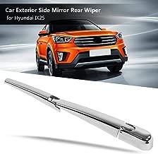 Mirror Rear Wiper 1Pcs Car Exterior Side Mirror Rear Wiper Universal For Hyundai Ix25 Matte Black Car Accessories
