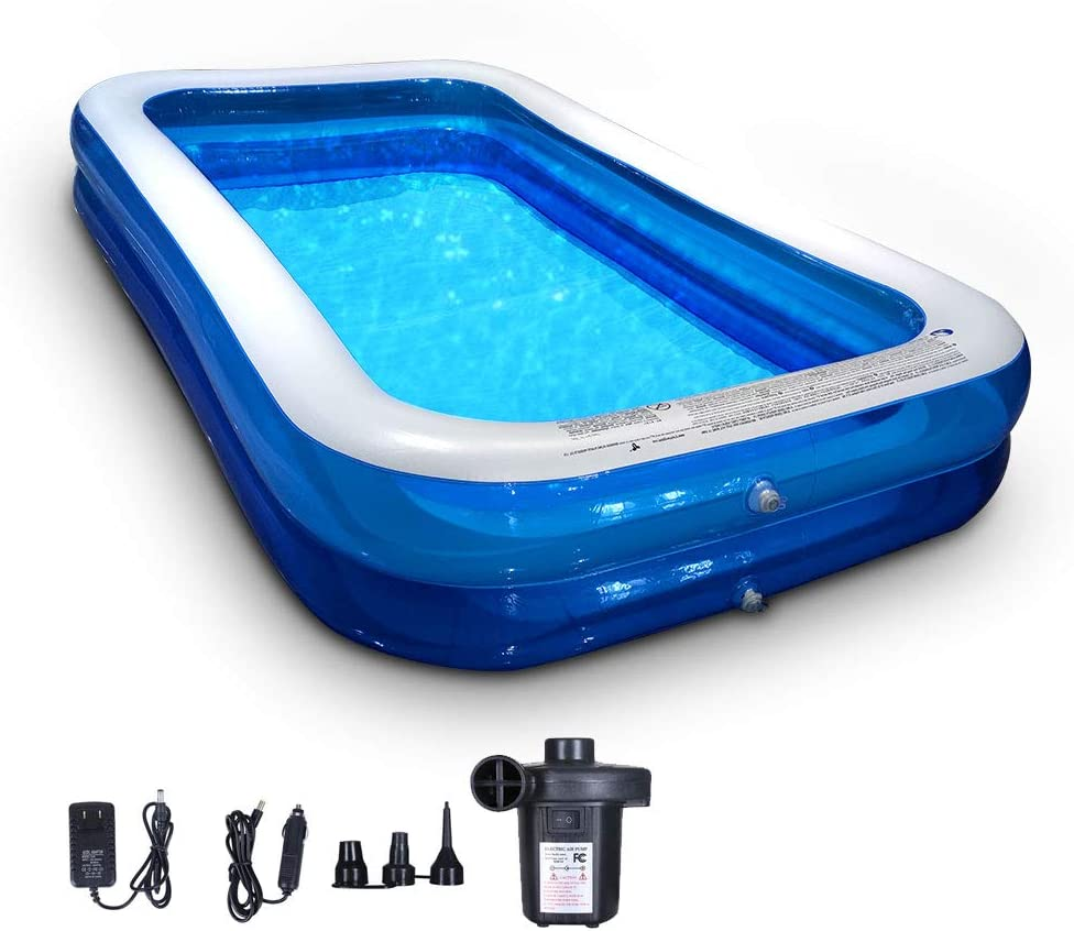 DONGJIE Rectangular It is very popular 70% OFF Outlet Inflatable Swimming Pool Family Large Swimm