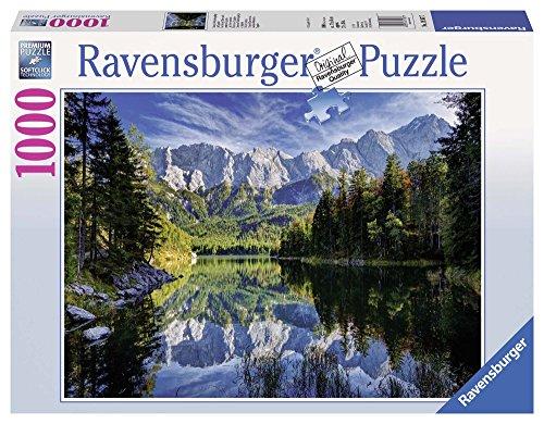 Ravensburger 19367 7 - Lago Eib, Germania, Puzzle 1000 Pezzi