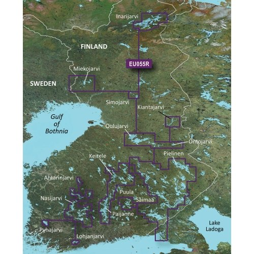 Lowest Prices! The Amazing Quality Garmin BlueChart g2 Vision - VEU055R - Finnish Lakes - SD Card