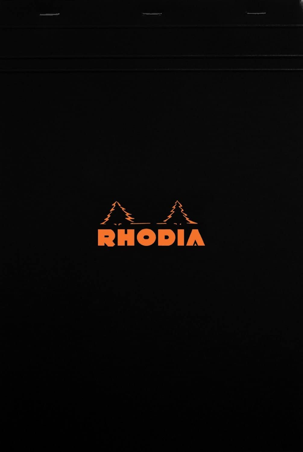 Popular product Rhodia Notepads Black Mail order Graph 80 8.25x11.75 Sheet of 5 Pack