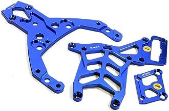 Integy RC Model Hop-ups BAJ163BLUE Chassis Brace Set (3) for HPI Baja 5B, 5T, 5B2.0 & 5SC