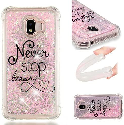 Galaxy J2 Pro 2018 Case Dynamic Liquid Quicksand Shockproof Case Glitter Bling Sparkle Soft product image