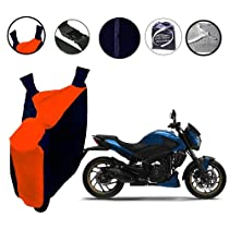 Autopearl Water Proof Bike Body Cover with Mirror Pockets, Buckle Belt, Carry Bag