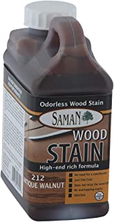 Saman TEW-212-32 Interior Water Based Stain for Fine Wood, Antique Walnut