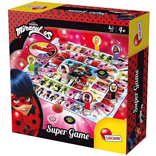 Lisciani Giochi- Ladybug Miraculous Super Game, 66070.0