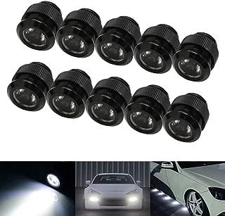 iJDMTOY 10pc 30W High Power Flexible LED Lighting Kit For Daytime Running Light or Under Car Puddle Light, 6000K Xenon White