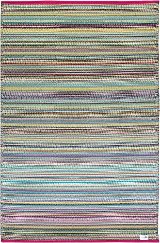 FAB HAB Reversible, Innen/Außen Witterungsbeständig Bodenmatte/Teppich - Cancun in Candy (90 cm x 150 cm)