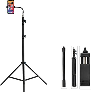 Pixel 80inch Tripod for iPhone Cell Phone Stand Video Recording Vlogging/Streaming/Photography, Smartphone Tripod Stand, S...
