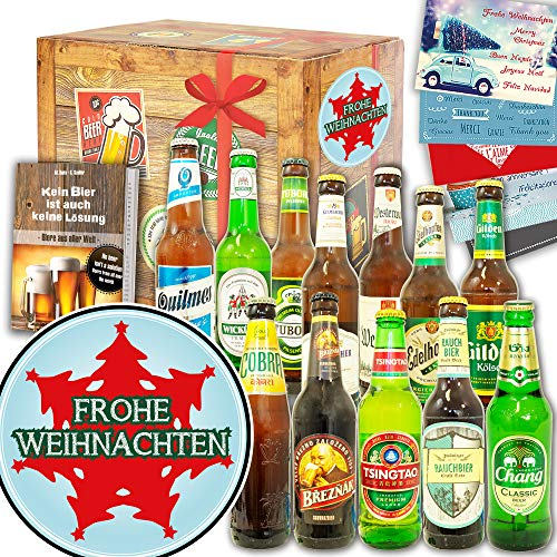 Tannenbaum ++ 12x Bier Welt und DE ++ Geschenkidee für Sie zu Weihnachten