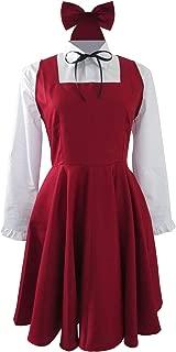 The Diary of Ellen Majo no Ie Ellen no Nikki Witch Red Dress Cosplay Costume