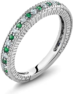 Best emerald white sapphire ring Reviews