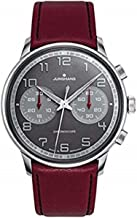 Junghans Watch Meister Driver Chronoscope Black Effect Lacquer Dial 027/3685.00