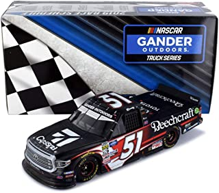 Lionel Racing Kyle Busch 2019 Atlanta 52nd Record Breaking Career Truck Win Raced Version NASCAR Diecast Car 1:24 Scale