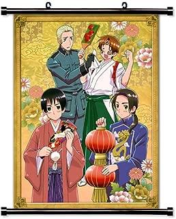 Hetalia: Axis Powers Anime Fabric Wall Scroll Poster (32