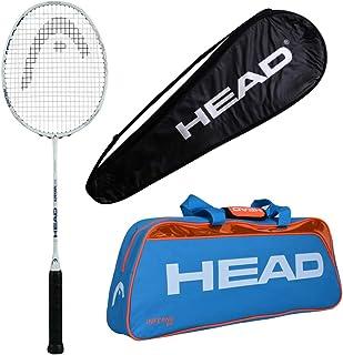 HEAD Head Ignition 500 Badminton Racquet Set with Inferno 50 Orange kitbag