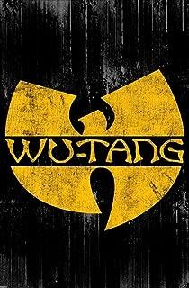 Pyramid America Wu Tang Clan Logo Music Laminated Dry Erase Sign Poster 24x36