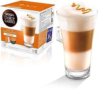 Nescafé - Dolce Gusto - Dosettes originales pour café macchiato et cappuccino 112 LATTE MACCHIATO CARAMEL