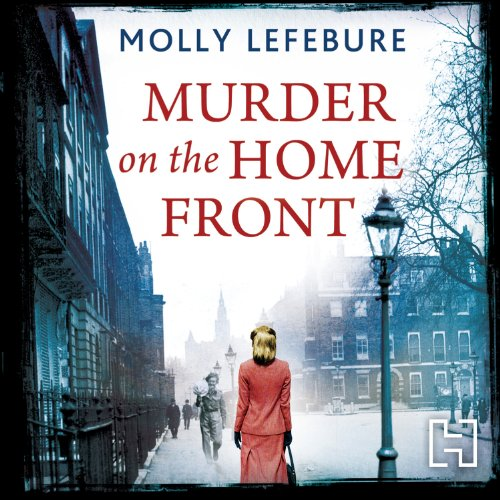 Murder on the Home Front audiobook cover art