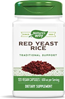 Nature's Way Red Yeast Rice 600mg, 120 Vcaps