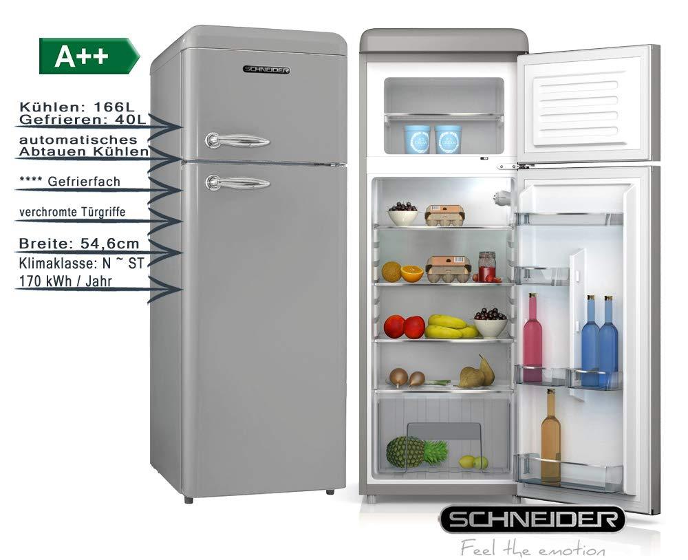 Schneider Retro - Nevera portátil (206 L, A++, 55 cm de ancho, SDD ...
