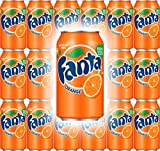 Fanta Orange Soda 12 Fl Oz Cans (Pack of 18, Total of 216 Fl Oz) A Perfect Bold Refreshment for All Parties, Events, & Social Gatherings! Perfect Size For Drinking With Meals, On The Go, Or Any Time