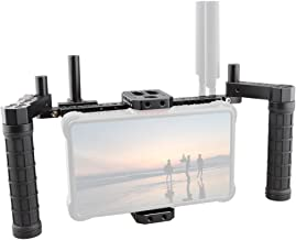 CAMVATE Director's Monitor Cage with Wireless Receivers and Multi-Function Plate
