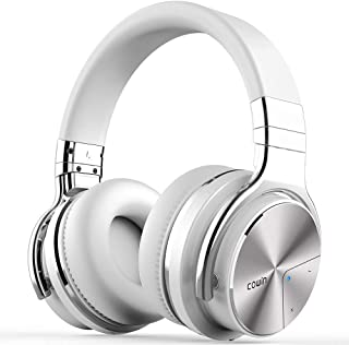 COWIN E7 PRO Active Noise Cancelling Headphones Bluetooth Headphones with Microphone/Deep Bass Wireless Headphones Over Ea...