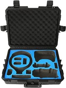 Foxom Waterproof Shockproof Hard Handbag Storage Bag Protective Carry ...