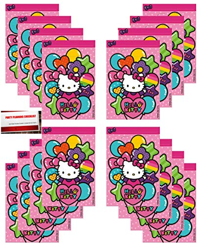 Hello Kitty Goodie Bags (Pack of 16)