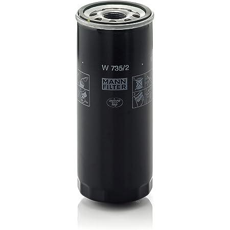 Original Mann Filter W 730 1 Schmierölwechselfilter Für Pkw Auto
