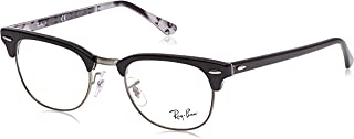 Women's Rx5154 Clubmaster Square Prescription Eyeglass...