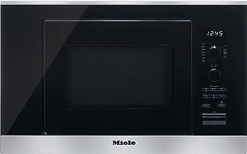 Miele M 6032 SC - Microondas (2100W, 220-240V, 10A, 59.5 cm, 31 cm, 37.2 cm) Acero inoxidable