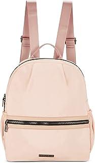Caprese Blythe Women's Nylon Backpack Medium Soft Peach