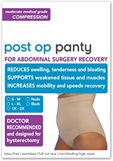Post Op Panty Compression Hysterectomy and Myomectomy Recovery Panty